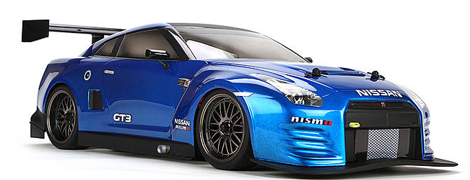 Vaterra 2012 Nissan GT-R 1/10-scale touring car.