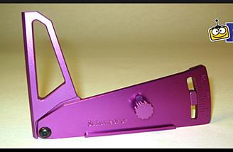 Schumacher Aluminum Camber Gauge (item no. H1032).