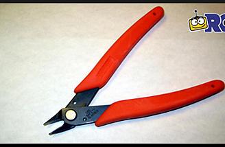 Xuron Micro Shear Flush Cutter (item no. 410).
