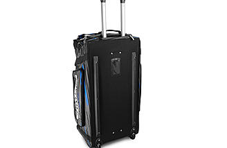 Upright, rear view - JConcepts Medium Roller Bag.