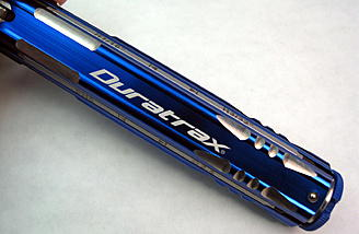 Not only is the Duratrax 12-Tip Multi Driver functional, but it also has a great look with its brilliant blue anodizing and re-machined edges.