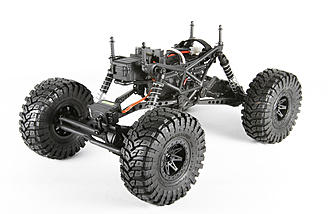 The 4-link suspension with oil-filled shocks make this a highly capable vehicle in the rough.