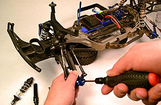 The majority of my testing of the Duratrax Tool Set was done using my Traxxas Slash 4x4 Ultimate.