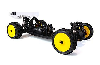 Chassis is built to h ave an ultra-low center-of-gravity to improve on track handling.