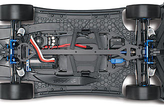 The heart of this beast is the Castle Mamba Monster Extreme Speed Control and Traxxas Big Block Brushless motor.