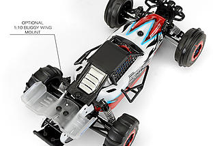 If you want to add a rear wing, Pro-Line includes the mount in the PRO-2 conversion kit.