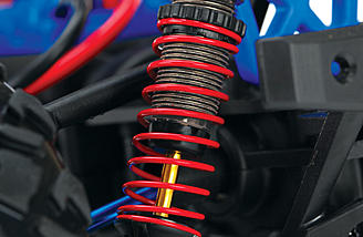 The Aluminum Shocks come fully assembled in a pack of four.