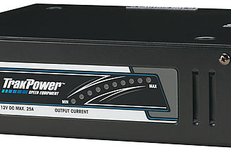 The DPS Racing Power Supply delivers up to 25A while maintaining a smooth, clean 12V DC on the output.