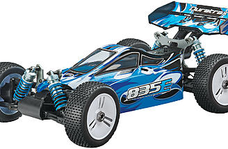 The electric-powered Duratrax 835E 1/8-scale buggy.