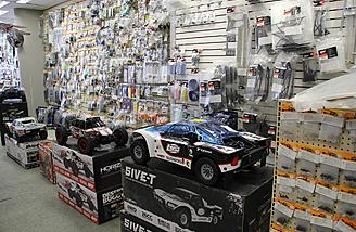 A trip to the local hobby shop is a great way to see what types of vehicles are available and the staff and help guide you to the right vehicle for you.
