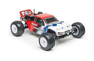 Team Associated T4.2RS 1/10-scale stadium truck.