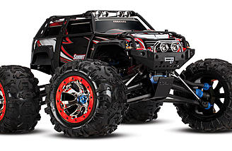 Traxxas Summit 1/10-scale monster truck.