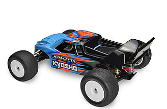 JConcepts added built-in air escape passages so that you can fine-tune the body for performance and equipped the rear with a high-performance gurney spoiler for increased traction.