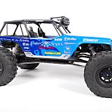 Axial 2.2 Trail Ready HD Series Beadlock w/Slim Ring - IFD™ Wheels Black mounted on the Axial Wraith.