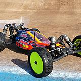 Dakotah Phend's race winning TLR 22 2.0.