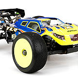 Team Losi Racing (TLR) 8IGHT-T 3.0 1/8-scale truggy.
