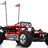 Vaterra Glamis Fear 1/10-scale dune buggy.