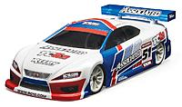 1/10-scale electric 4WD touring car.