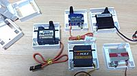 Name: Newplane26.jpg Views: 460 Size: 1.74 MB Description: Frames for several servo which I had in hands.