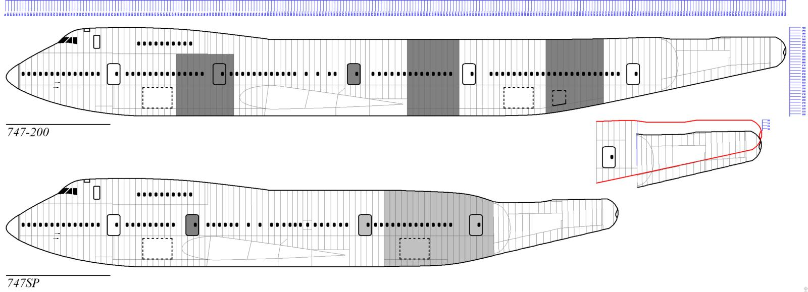 attachment browser  boeing 747 -200  sp compared jpg by commendatore
