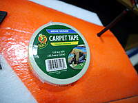 Name: 095.jpg Views: 411 Size: 76.5 KB Description: Carpet tape on wingtips..  This stuff sticks to epp great.
