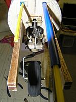 Name: 1184 tailwheel completed.jpg Views: 90 Size: 150.1 KB Description: Installed down