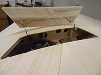 Name: Dsc01398.jpg Views: 146 Size: 101.9 KB Description: Hinges temporarily braced into position, door open.