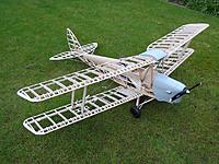 Name: DSC04355.JPG Views: 19 Size: 405.5 KB Description: Falcon Model Kits 1/4 scale Tiger Moth during initial trial assembly. There is still a long way to go at this stage, such a quality kit requires a good amount of scale detailing.