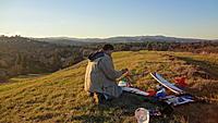 Name: Zagi DSC03411.jpg Views: 216 Size: 716.7 KB Description: At the Bald Mountain , preparing to launch.