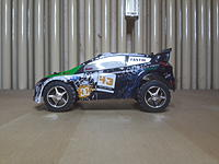 Name: 20170202_182556.jpg Views: 100 Size: 403.1 KB Description: My second one! A999 with A989 body shell and L939 wheels! Full proportional controling. B-version with Rally body shell. Good performance!