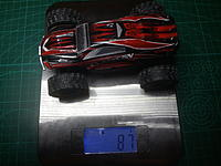 Name: 20170208_190810.jpg Views: 41 Size: 510.1 KB Description: 87g, stock A999 with Truggy body shell.
