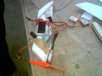 Name: fuse.jpg Views: 131 Size: 39.1 KB Description: The Lipo could have been somewhat smaller, so the fuselage pod is not a beauty, but works anyway