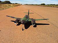 Name: 15 Apr 2012 003.jpg Views: 62 Size: 263.0 KB Description: AW ME 262 after landing at ODI ;-)