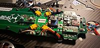 Name: 2019-09-14 17.17.12.jpg Views: 16 Size: 2.61 MB Description: Here is the board with the motor connections all made. ESC and Strobe lights as well