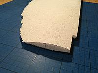Name: Billede 12-01-2019 16.42.51.jpg Views: 28 Size: 167.9 KB Description: Foam core sanded to most probable shape.