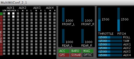 Name: failsafe_1500.png Views: 270 Size: 16.2 KB Description: MultiWiiConf 2.1 mit abgeschaltetem Sender. Jetzt den Knopf auf dem Frsky-Empfänger drücken und das integrierte Failsafe ist aus!