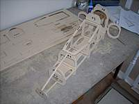 Name: Nose section F1 to F6 and sub formers - 4.jpg Views: 255 Size: 116.2 KB Description: Top shot, already looking quite big.