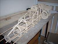 Name: Nose section with stringers 3.jpg Views: 405 Size: 110.8 KB Description: Stringers added to nose section.