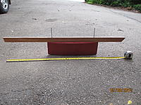 Name: false keel.jpg Views: 43 Size: 1.24 MB Description: a kind of flat tear-drop shape that is covered in fiberglass like the hull...this one holds 25 pounds of lead shot set in wood glue