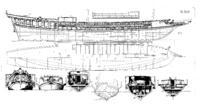 Name: galley Fredrik Henrik af Chapman's Architectura Navalis Mercatoria Galley of 32 oars, 2 men on.jpg Views: 34 Size: 1.43 MB Description: Chapman's 16 pairs of oars galley