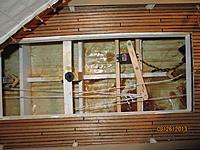 Name: Ram Schooner aft hatch showing rudder control..jpg Views: 252 Size: 302.8 KB Description: aft mid ship hatch showing sail arm and aft false keel tube