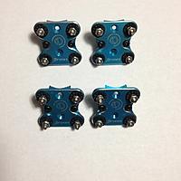 4x jdrones aluminum anti vibration motor mounts rc groups for Anti vibration motor mounts