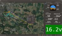 Flight replay from captured smartport telemetry * Now you can do it 'live' * Images are at slightly different times, so some attributes will be different, other (RSSI scaling) are 'todo'