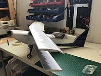 Name: 20180527_142424143_iOS.jpg Views: 17 Size: 2.09 MB Description: Mockup assembly. Happy with results. I did aileron and elevator hinges using covering. If they are good enough for Precision Aerobatics, then they should be good enough for this plane.
