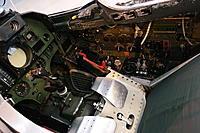 Name: 02220017.jpg Views: 23 Size: 1.37 MB Description: Saab Draken cockpit. The seat is reclined much like an F-16 seat.
