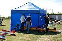 Lassi's great tent...