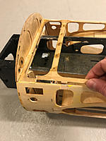 Name: 20190305_170647466_iOS.jpg Views: 20 Size: 359.8 KB Description: Front fuselage shows it age. Old damage is present, and there's multiple small cracks.