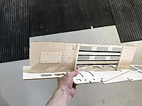 Name: 20190530_081553527_iOS.jpg Views: 7 Size: 2.06 MB Description: And bottom side of the battery tray. ESC doubler, and balsa & CF for battery straps visible.
