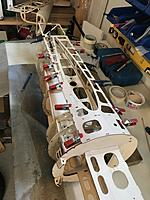 Name: 20190619_161105202_iOS.jpg Views: 10 Size: 3.61 MB Description: Plenty of clamps to get side panel glued in place.