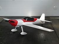 "Name: P1100354.jpg Views: 138 Size: 166.1 KB Description: ""Cheapo MX2"" from HobbyKing ready for maiden."